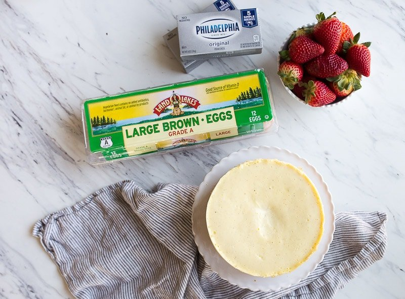 Instant Pot Cheesecake Recipe for two