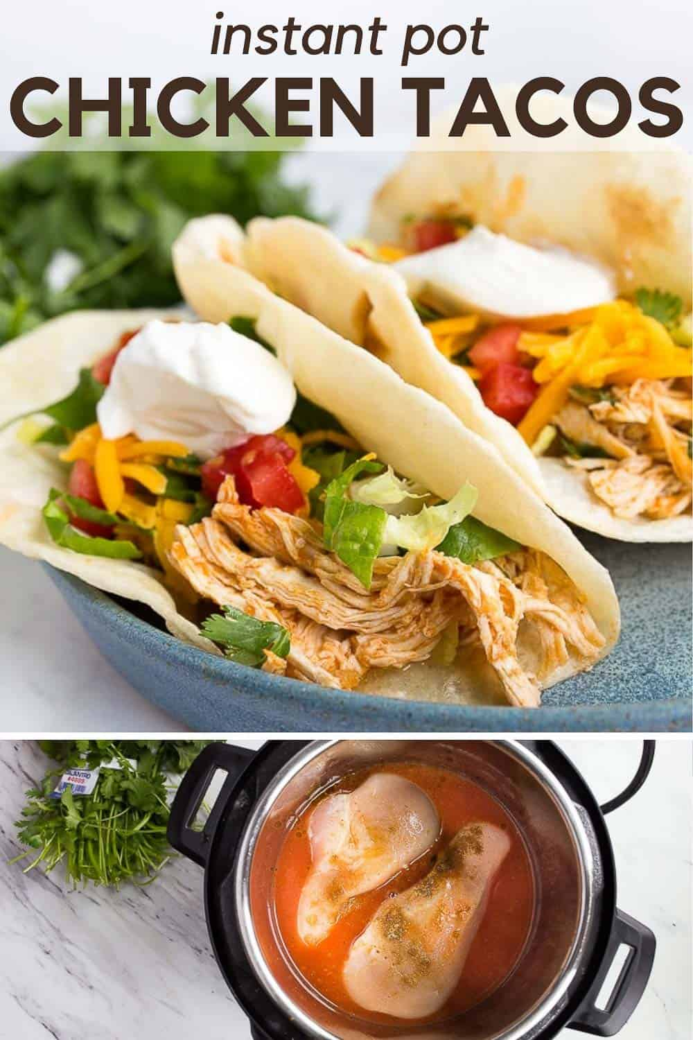 Instant Pot Chicken Tacos Shredded Chicken In The Instant Pot Mini