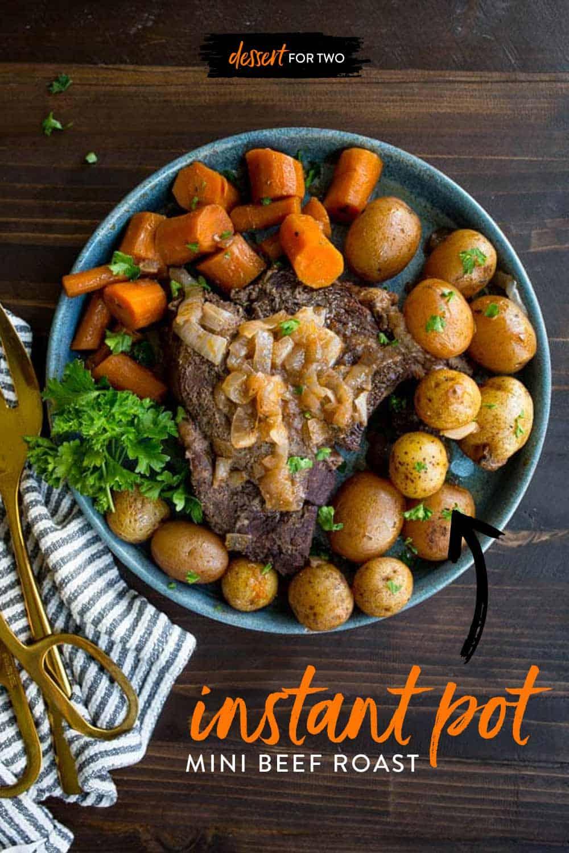 Instant Pot Beef Roast For Two Instant Pot Mini Recipes