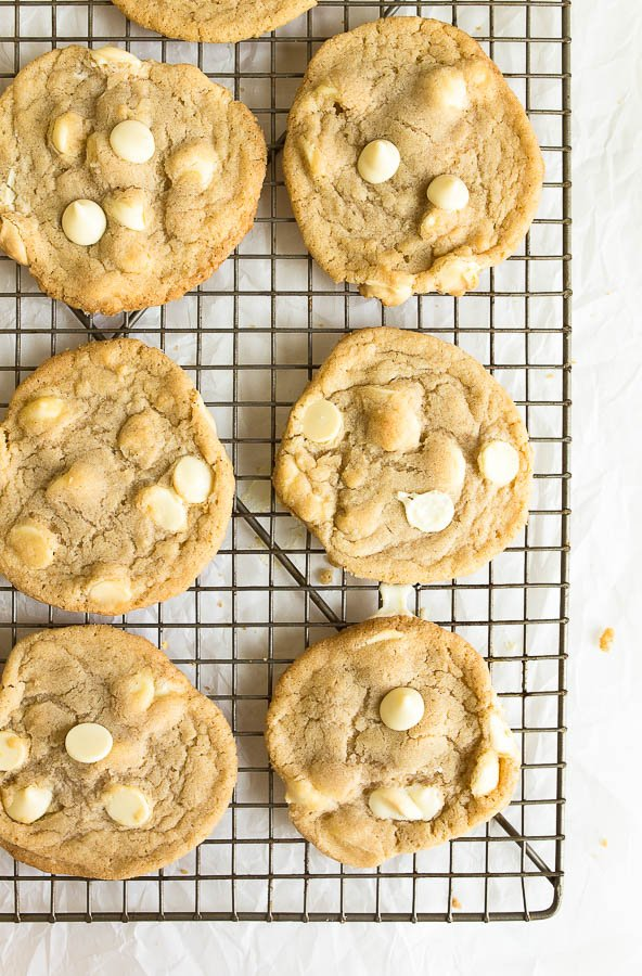 white chocolate chip cookies recipe