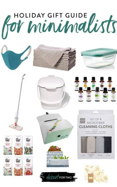 gift guide for minimalists