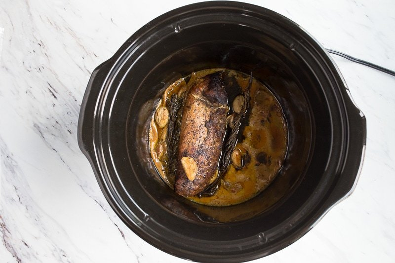 pork tenderloin in the slow cooker
