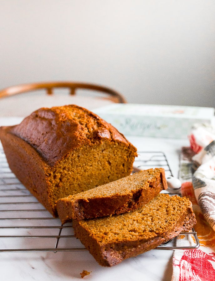 Easy Pumpkin Bread Recipe One Bowl Dessert For Two