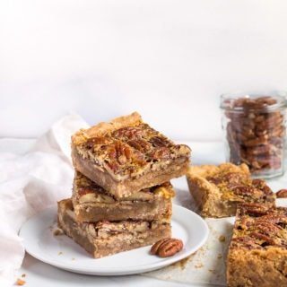 pecan pie bars without corn syrup