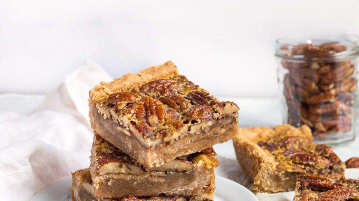 Pecan Pie Bars Without Corn Syrup Dessert For Two