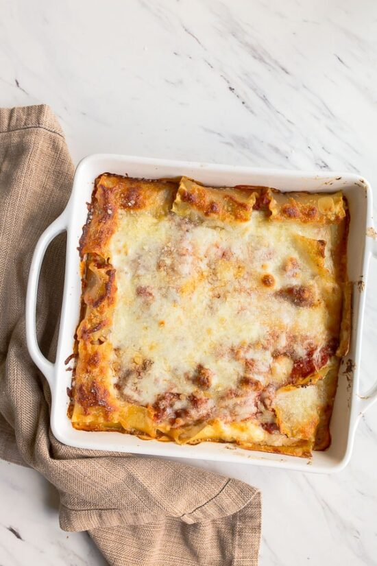 freezer lasagna recipe