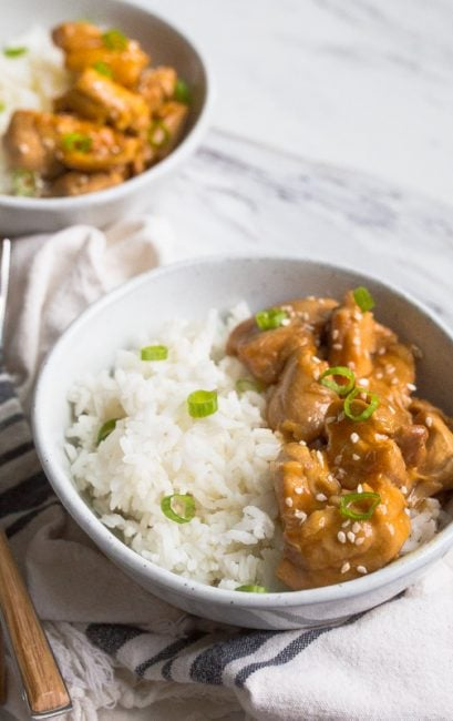 instant pot teriyaki chicken thighs