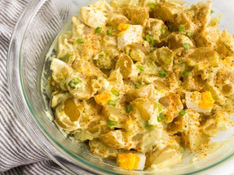 Instant Pot Potato Egg Salad Recipe