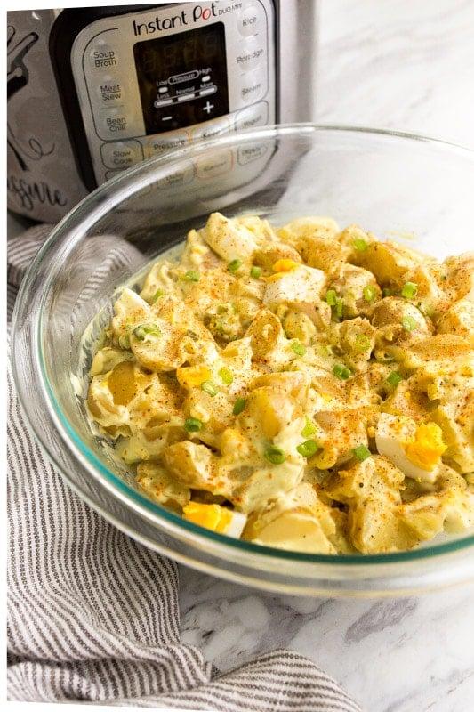 instant pot potato salad photo