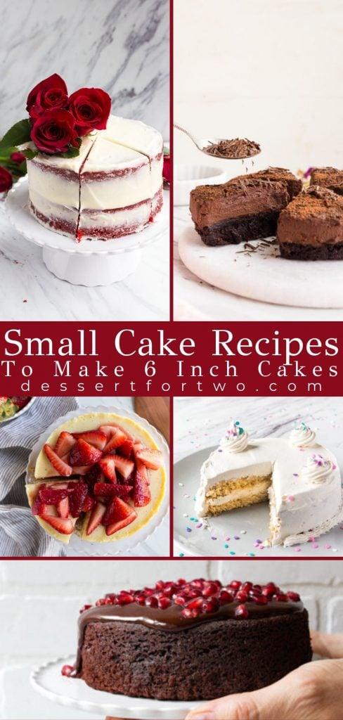 6 inch cake recipes