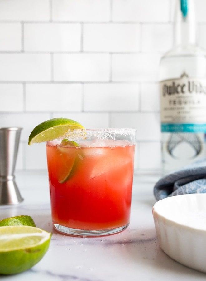 how to make fresh watermelon margaritas
