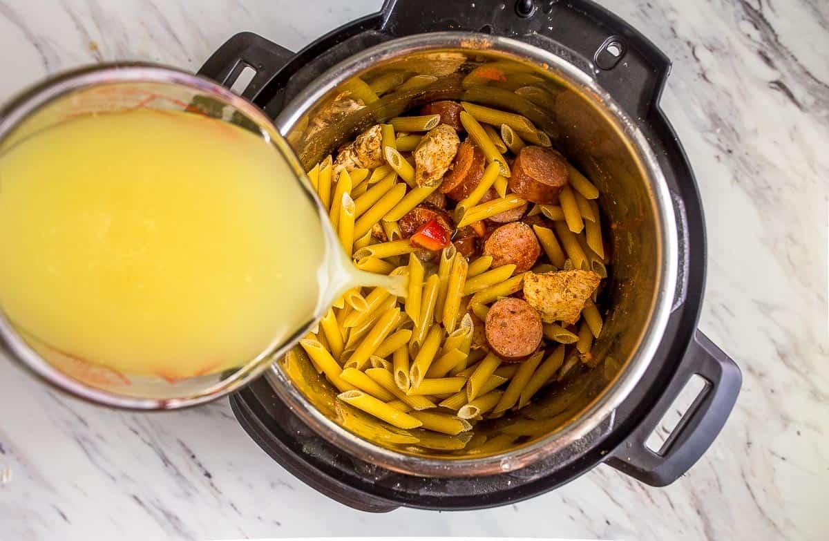 instant pot chicken pasta