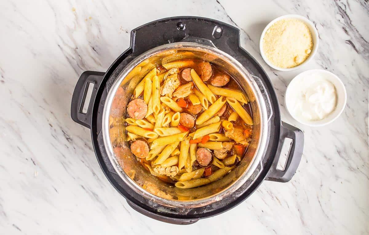 pasta in the instant pot