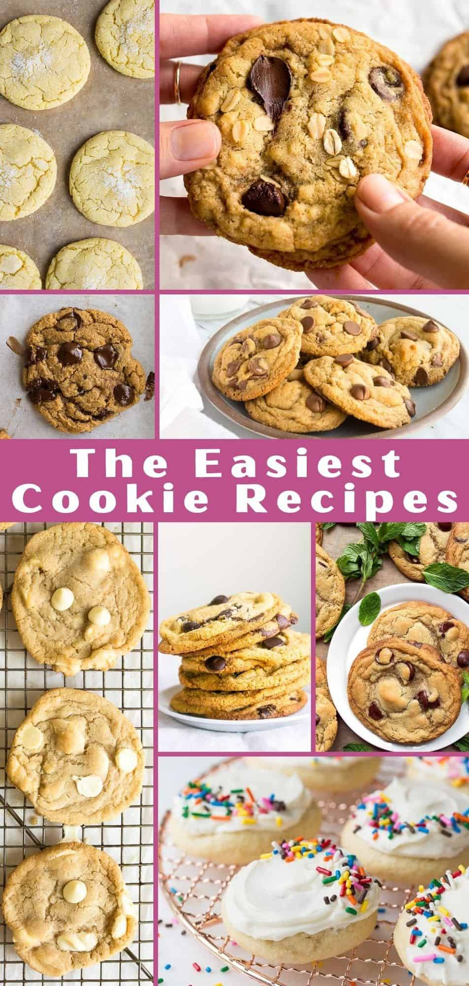the best easy cookies recipes