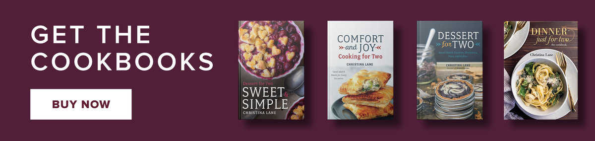 Dinner Dessert Small Batch Recipes For Two Dessert For Two