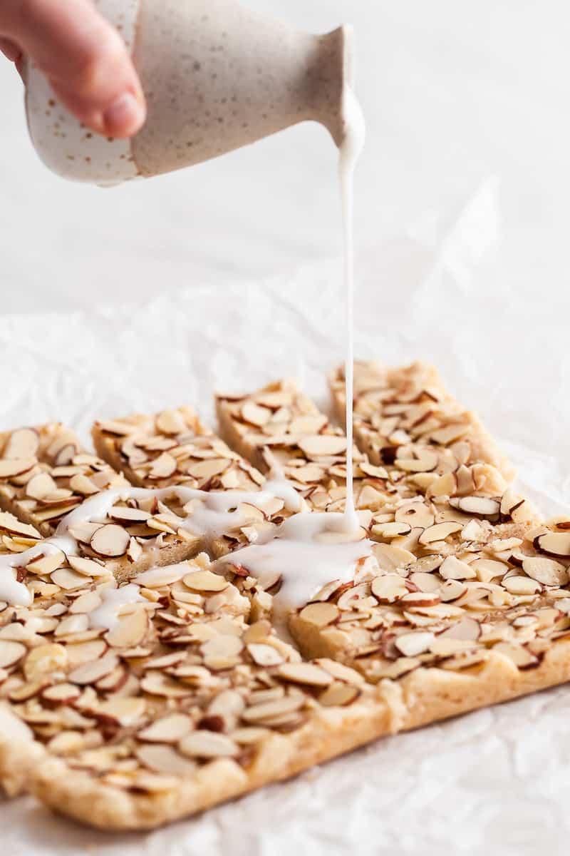 almond glaze