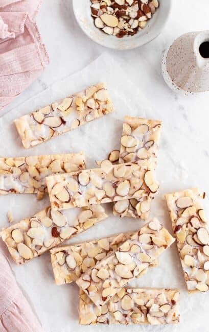 almond bars recipe