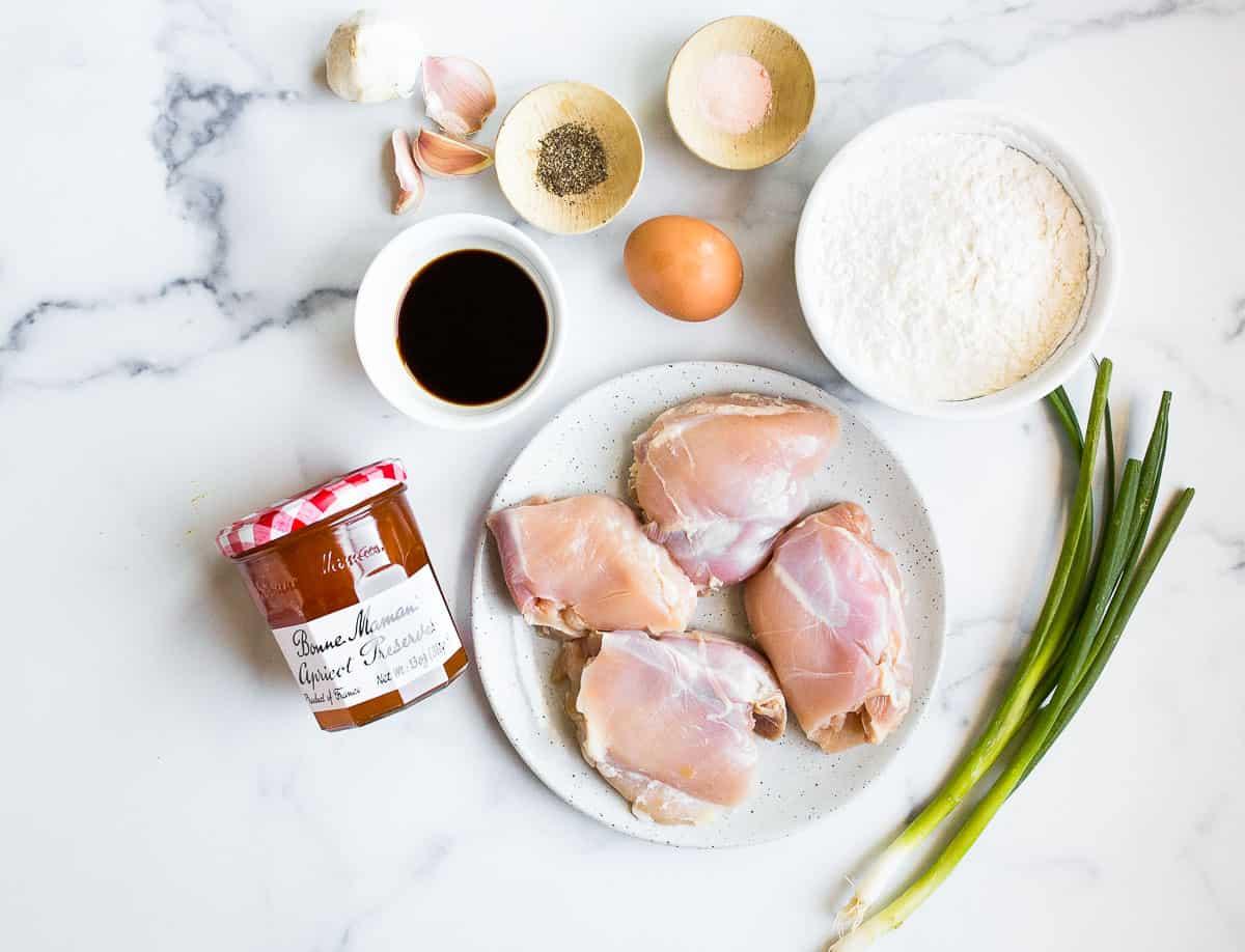 apricot chicken ingredients