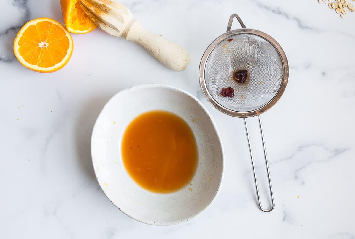 cranberry orange glaze