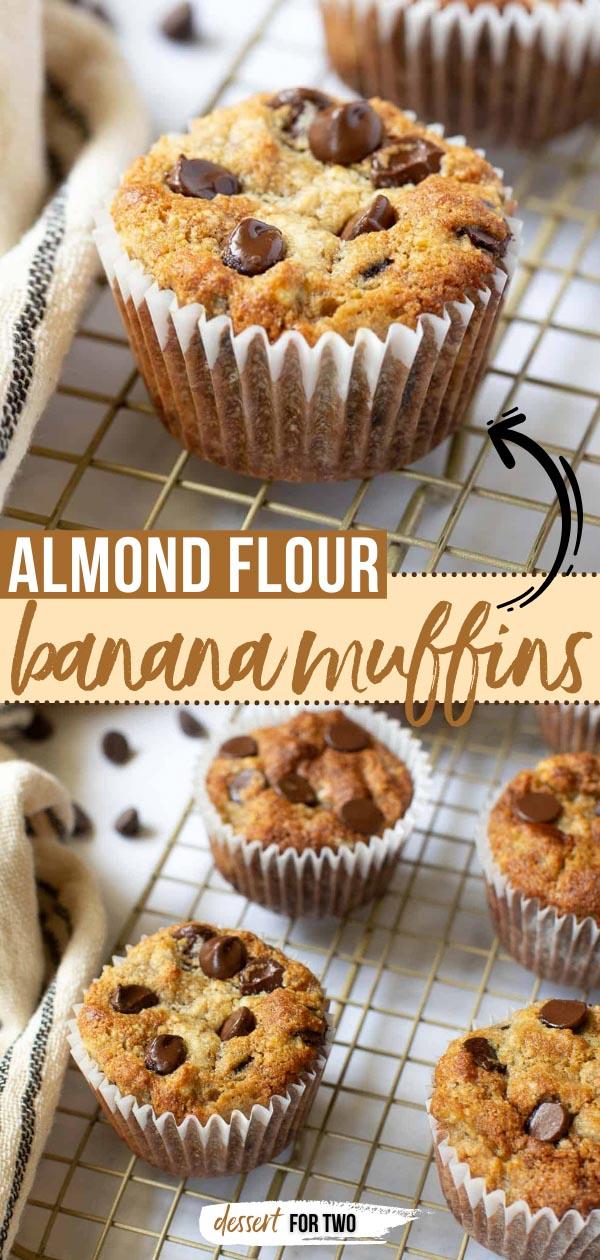 Almond flour banana muffins.